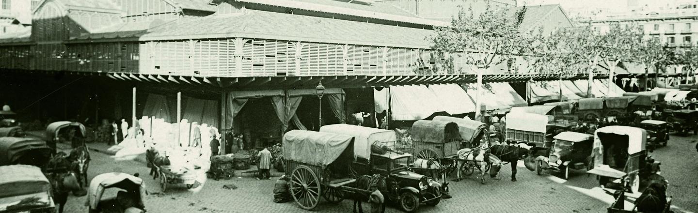 El Born, mercat central majorista de fruites i verdures