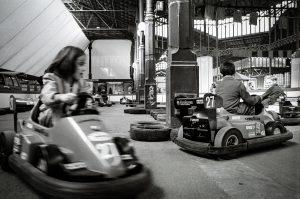 Atraccions infantils durant la XIII Gran Festa de Convergència Democràtica de Catalunya. Foto Pere Virgili