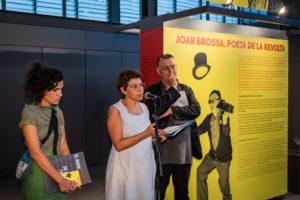 Inauguració de l'exposició 'Joan Brossa, poeta de la revolta'