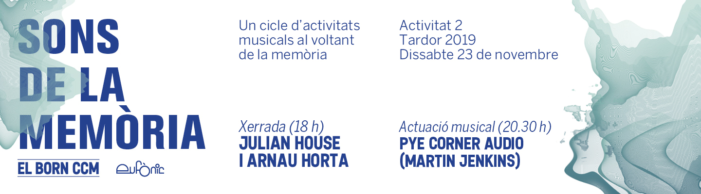Sons de la memòria 2019-2020