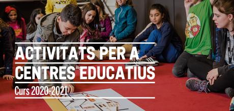 Programa d'activitats per a centres educatius 2020-2021