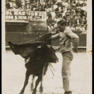 Mariano Alós torejant