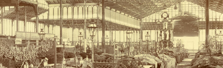 El primer exemplar de l'Arquitectura del ferro a Barcelona