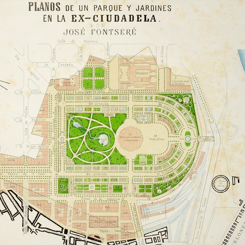 Projecte del Parc de la Ciutadella