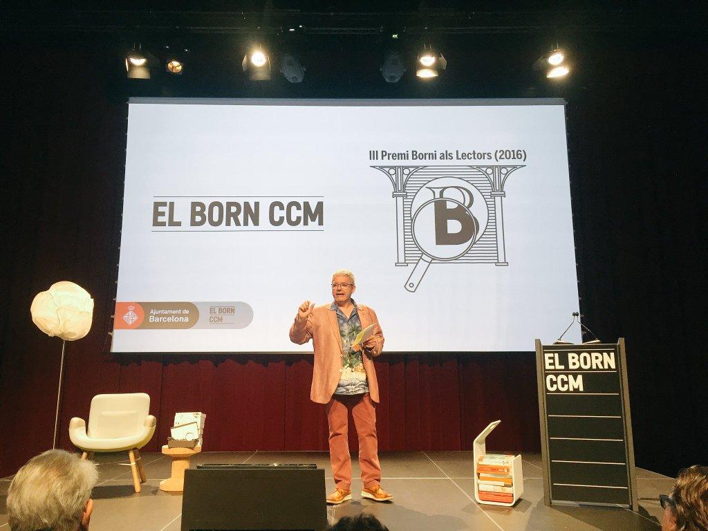 L'escriptor Màrius Serra al Premi Borni 2016