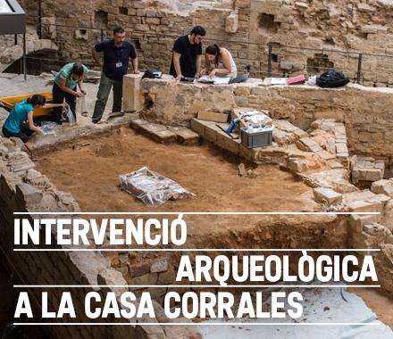Intervenció arqueològica a la Casa Corrales