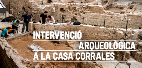 Intervenció arqueològica Casa Corrales