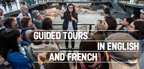Guided tours in English and French