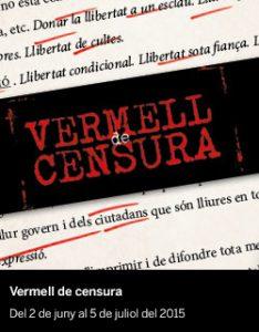Vermell de censura - El Born CCM