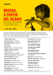 Programa del recital