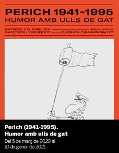 Exposició 'Perich (1941-1995). Humor amb ulls de gat'