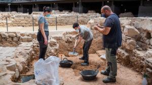 Campus de pràctiques d'arqueologia - Edu Pedrocchi- El Born CCM